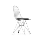 'Wire Chair' mit Sitzpolster
