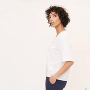 Puristisches Shirt aus Bio-Baumwolle