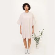 Oversize Kleid aus Baumwolle