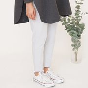 George beaumont organic cotton trousers in grey 4