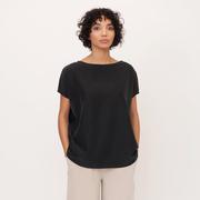 Aline beaumont organic modal top in black 1