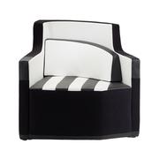 Asymmetrischer Sessel 'D2'