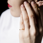 Feiner Ring 'Little Leaf'