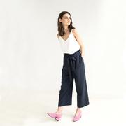 Yumi trousers navy 1
