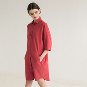 Monk dress red 1