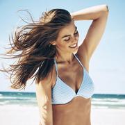 Himmelblauer Bikini von 'Paula Beachwear'