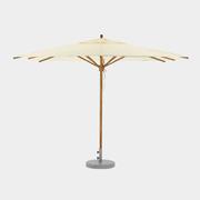 Teakschirm für Sonnentage
