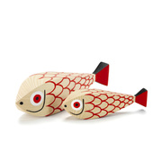 'Wooden Doll Mother Fish & Child' von Vitra