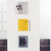 Covershow zeitschrifenregal hellgrau gelb grau schoenbuch am 12