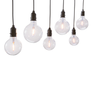 Verspielte Lichterkette 'Vintage Drop Light'