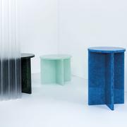 Tisch 'Font' aus Glaskeramik