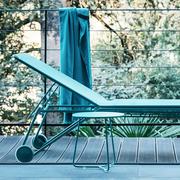Bain de soleil toile chaise longue fermob