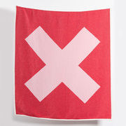 Baumwoll-Plaid mit Kreuz