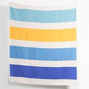 Decke mit Block-Streifen