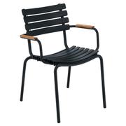 Stuhl mit Bambus-Armlehne 'Clips'