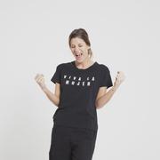 Camiseta viva la mujer 1