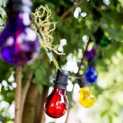 Lichterkette fürs Sommerfest