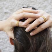 Ring mit Flechtstruktur von 'Yoshiki'