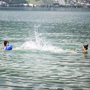 Schwimmsack für Badespass