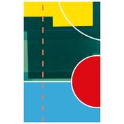 Sportives Strandtuch 'Hoop'