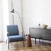 Sideboard 'Sussex' in Schwarz