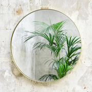Wunderschöner Messing-Spiegel