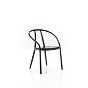 Schwungvoller Stuhl 'Gustav'