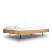 Schlichtes Bett 'Unidorm'