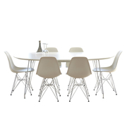 Tisch 'DK10' auf feinen Beinen