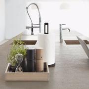 Kitchen case servingtray papertowel