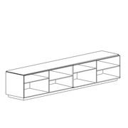 Offenes Sideboard 'Malmö'