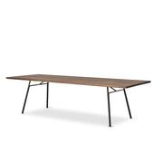 Tisch 'Corduroy' in geräucherter Eiche