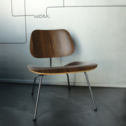 Plywood-Sessel 'LCM' in Nussbaum