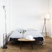 Das Bett auf Rollen