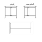 Tischgestell 'Eiermann 2'