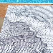 Strandtuch 'Grid' von Schönstaub