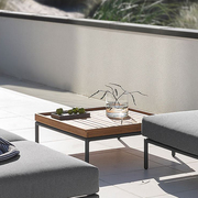 Table basse outdoor level lounge houe