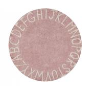 Runder Teppich mit 'ABC'