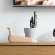 'L'Oiseau' aus Keramik oder Holz