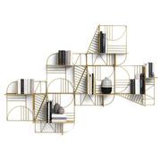 Einzelstück: Wandgeometrie mit 'Musa'