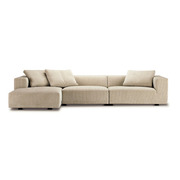 Grosses Sofa 'Baseline' mit Chaiselongue