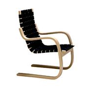 Schwungvoller 'Armchair 406'
