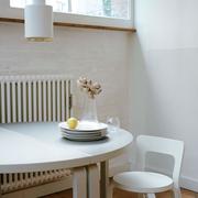 Aalto table half round 2