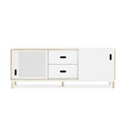 601047 kabino sideboard w.drawers white 1