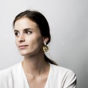 Eklektischer Ohrring 'Mya' mit Permutt
