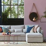 Sofa 'Focus' mit Chaiselongue