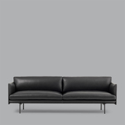 3-er Sofa 'Outline'