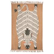 Zebra-Teppich 'Naia' von Nattiot