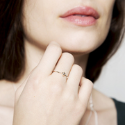Feiner Ring 'KissKiss'