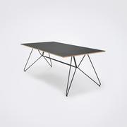 Tisch 'Sketch' mit Linoleum